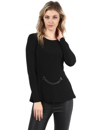 Buy Top With Chain Embellishment