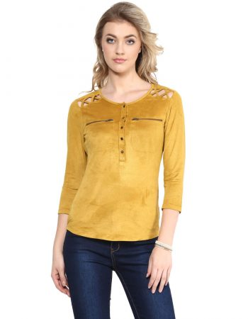 Front Button Top at Affordable Price